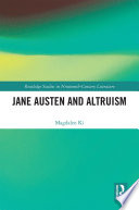 Jane Austen And Altruism Book PDF