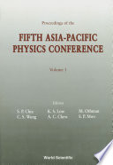 Asia pacific Physics Conference   Proceedings Of The Fifth Conference  In 2 Volumes  Book