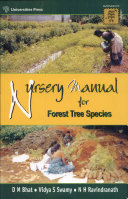 Nursery Manual for Forest Tree Species