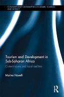 Tourism and Development in Sub-Saharan Africa