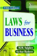 LAWS FOR BUSINESS Pdf/ePub eBook