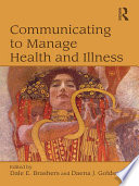 Communicating to Manage Health and Illness Book PDF