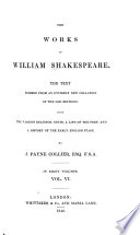 The Works of William Shakespeare  Troilus and Cressida   Coriolanus   Titus Andronicus   Romeo and Juliet   Timon of Athens Book