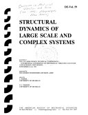 Structural Dynamics Of Large Scale And Complex Systems Book PDF