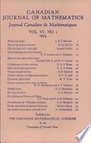 Canadian Journal of Mathematics