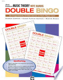 Essentials of Music Theory  Note Naming Double Bingo Book PDF