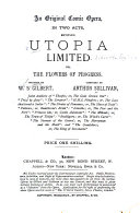 Pdf Utopia Limited, Or, the Flowers of Progress