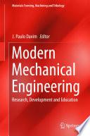 Modern Mechanical Engineering