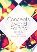 Concepts in World Politics