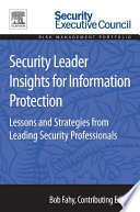 Security Leader Insights for Information Protection Book