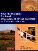 New Technologies for Rural Development Having Potential of Commercialisation