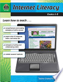 Internet Literacy Grades 6 8 Book PDF