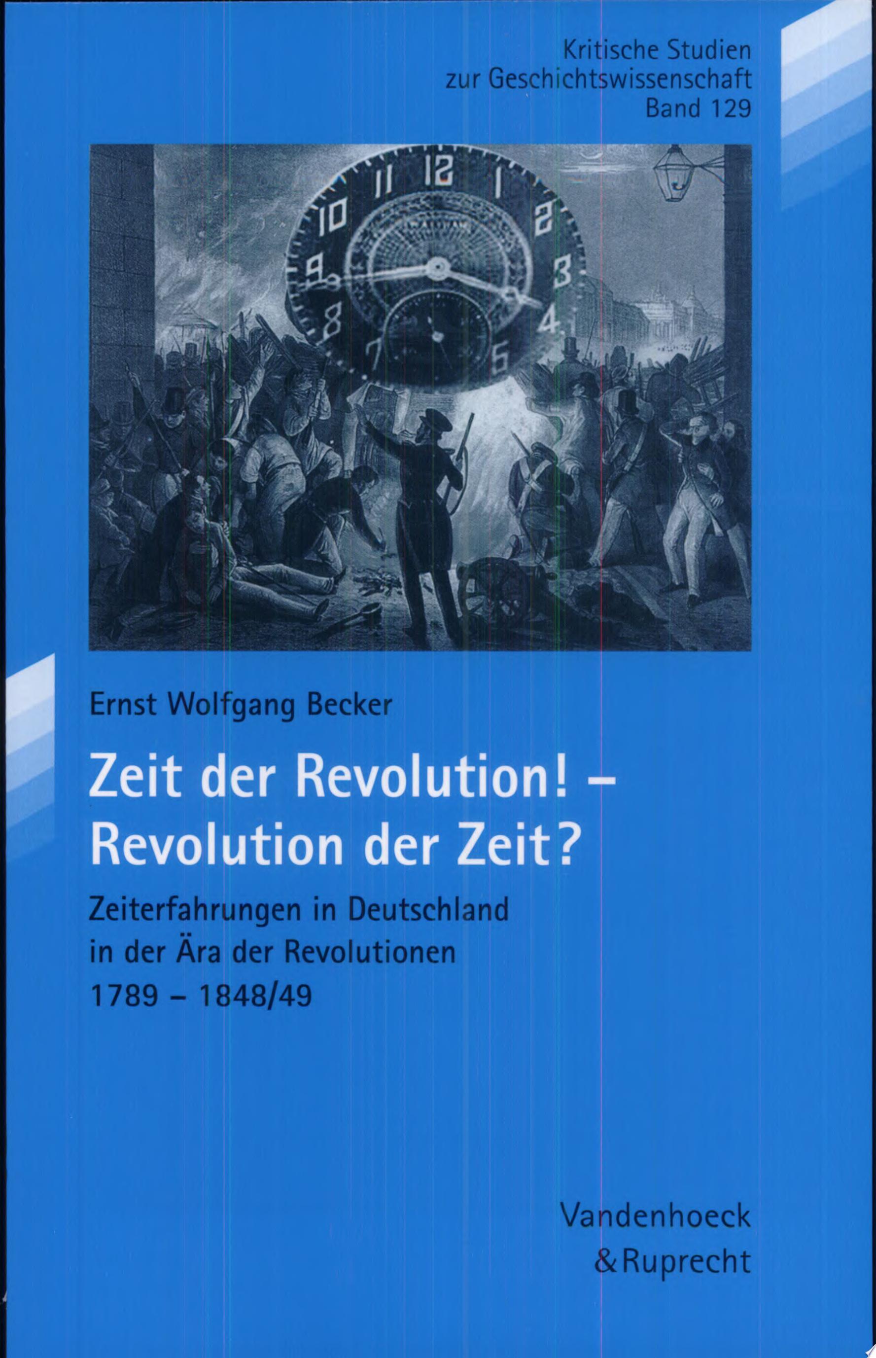 Zeit der Revolution    Revolution der Zeit