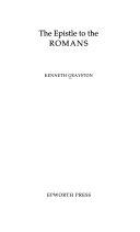 The Epistle To The Romans