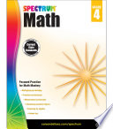 Spectrum Math Workbook  Grade 4