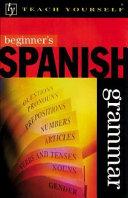 Beginner s Spanish Grammar