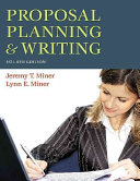 Proposal Planning   Writing Book