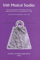 The Maynooth International Musicological Conference 1995