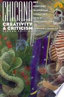Chicana Creativity and Criticism
