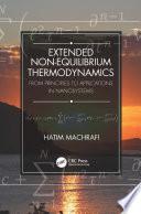 Extended Non-Equilibrium Thermodynamics