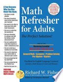 Math Refresher for Adults: The Perfect Solution