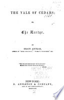 The Vale of Cedars  Or  The Martyr Book