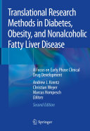 Translational Research Methods in Diabetes, Obesity, and Nonalcoholic Fatty Liver Disease Pdf/ePub eBook