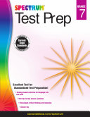 Spectrum Test Prep, Grade 7