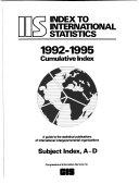 Index to International Statistics