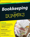 Cover of Bookkeeping For Dummies