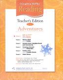 Houghton Mifflin Reading: Theme 1, Silly stories