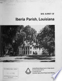 Soil Survey of Iberia Parish  Louisiana
