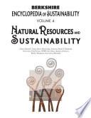 Berkshire Encyclopedia of Sustainability 4 10