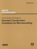 Standard Construction Guidelines for Microtunneling