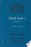 Ovid, Fasti 1  : A Commentary