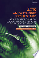 Acts  An Earth Bible Commentary Book