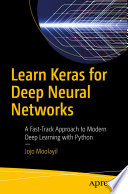 Learn Keras for Deep Neural Networks Book