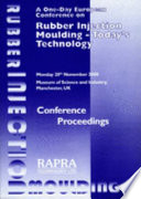 Rubber Injection Moulding 2000   Today s Technology Book