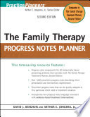 The Family Therapy Progress Notes Planner Book