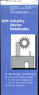 EPA  Industry Sector Notebooks