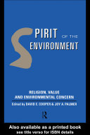 Pdf Spirit of the Environment Telecharger