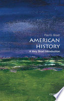 American History A Very Short Introduction