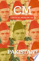 Critical Muslim 4 Book PDF