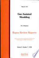 Gas Assisted Moulding