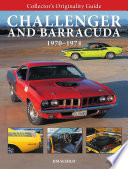 Collector s Originality Guide  Challenger and Barracuda 1970 1974
