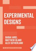 Experimental Designs Book
