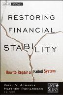 Restoring Financial Stability Pdf/ePub eBook
