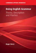 Doing English Grammar