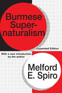 Burmese Supernaturalism [Pdf/ePub] eBook