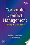 Corporate Conflict Management